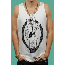 Bulk White Tank Top Men Gym