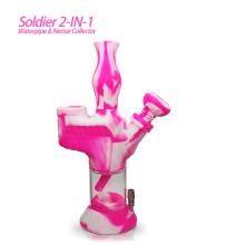 Soldat 2 in 1 Wasserpfeife & Nektarsammler