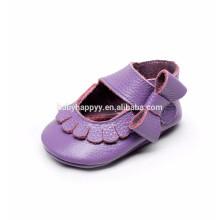 Chaussures en cuir souple en cuir belle chaussures pour bébé chaussure pour bébé