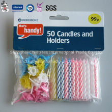 No Dripping Wax Spiral Candle with Eco-Friendly Material