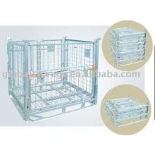 Warehouse Storage of medium duty Wire Container