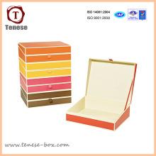 Подарочная коробка для бумажной упаковки на заказ для ювелирных изделий, одежды, аксессуаров