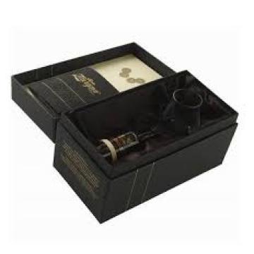 Caixa de papel de papelão para embalagem de vinho