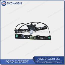Regulador de ventana de puerta delantera genuino Everest LH AB39 2123201 DC