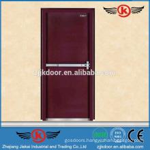 JK-F9006 superior interior fireproof wood door with push bar