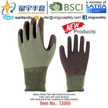 (Productos de Patentes) Guantes de protección del medio ambiente con látex T2000