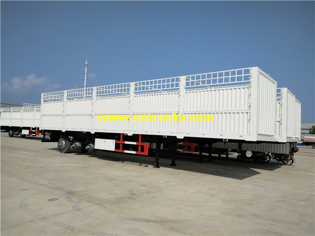 Tri-axle Box Van Trailers