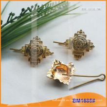 Uniforme de cobre amarillo Botones BM1685
