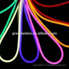 Flexible LED Lumière RGB 220V LED Néon tube étanche conduit led tube lampe à câble SMD 2835