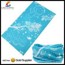 fashion multifunction cheap wholesale 100%polyester elastic customized seamless tubular bandana