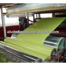 Bobine en aluminium revêtue de couleur