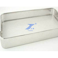 Stainless Disinfection Wire Mesh Basker for Medical