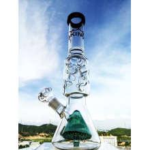Enjoylife Hbking Glasbecher Doppelte innere Glasbecher Gerade Qualität Rauchen Rohr Glas Wasser Rohr