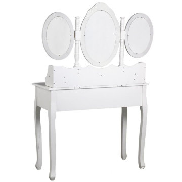 modern Large-capacity cheap white dressing table stool furniture
