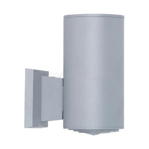Gray Cylindrical Led Outdoor Wall Light