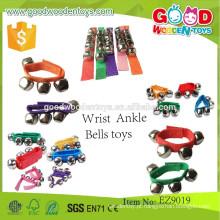 Instrumentos de brinquedo baratos e brinquedos musicais para crianças de qualidade superior, brinquedos de toques de pulso e tornozelo
