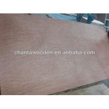 Precio competitivo madera contrachapada comercial / contrachapado comercial de 6 mm para muebles