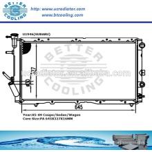 Radiator Manufacturers China/Radiator For SUBARU COUPE/Sedan/Wagon OEM:45181GA651