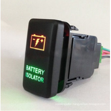 2.1A Two LED Lights Laser Etching Push Button Switch for Toyota Series