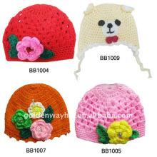 Bonnet en crochet Chapeau en tricot Bébé