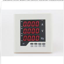 Uif63 Размер рамки 72 * 72 Заводская цена Однофазный AC LED Volt AMP Цифровой комбинированный измерительный прибор для промышленного использования