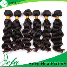 Unverarbeitete Menschenhaar Remy Virgin Hair Extension