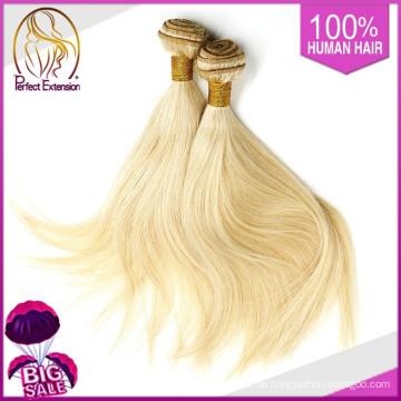 Blonde Virgin Indian Hair 20 22 24, Sexy Blondes Haar direkt aus Indien