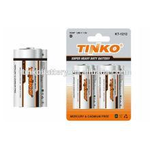 Carbon Zinc Battery R20
