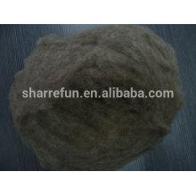 Fibre de laine pure cardée et épilée chinoise