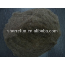 Chinese carded and dehaired pure wool fibre