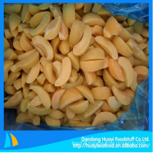 yummy frozen fresh yellow peach for wholesale