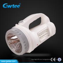 Fabrikverkauf Multifunktions-Wiederaufladbare LED-Notfall-Suchscheinwerfer
