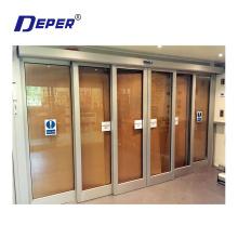 Deper DBS50 commercial glass door operator automatic sliding door telescopic