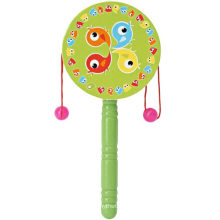 Wooden Educational Toy Rattle Drum Music Toy