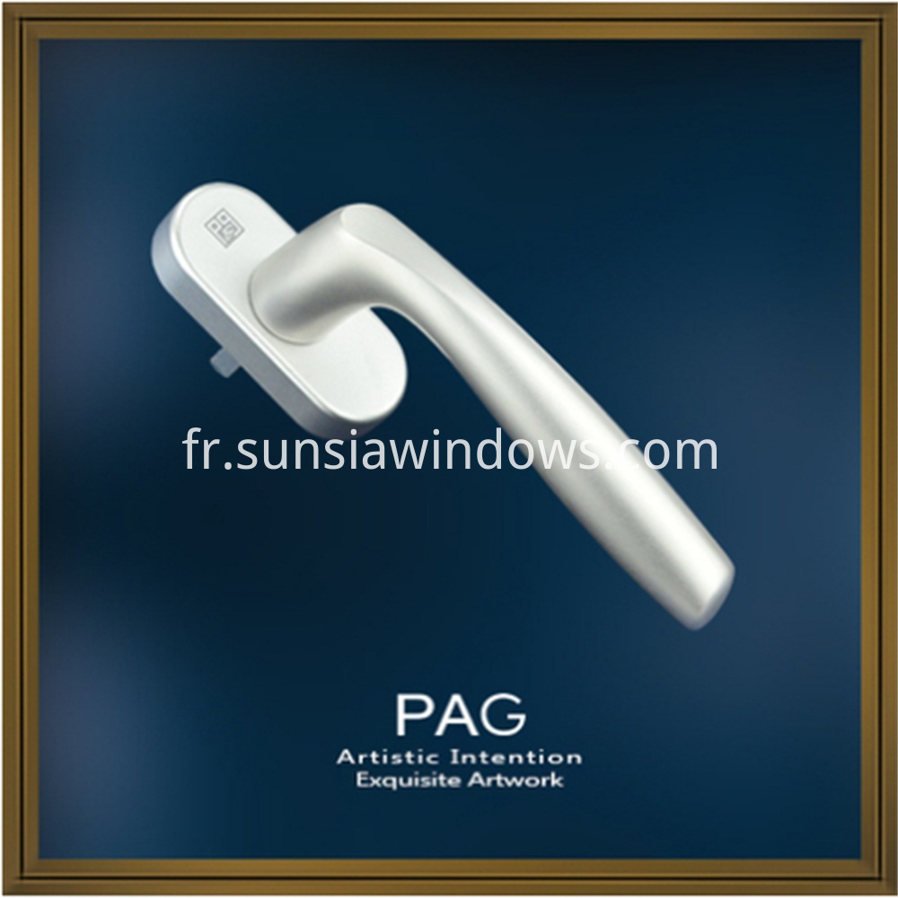 aluminium facy door and window accessories spindle handle