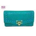 2014 Fashion PU Leather Lady Wallets Card Purse Moneybag (NMDK-W004)