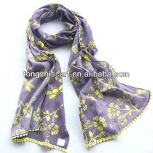 long cotton scarf