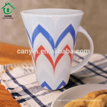 Food contact safe cheap bulk porcelain travel coffee mugs