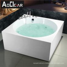 Aokeliya free standing jetted bath tub whirlpool hydromassage bathtub from Europe for sale