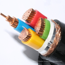 XLPE insulated PVC sheathed copper wire braided and shielded frequency  converter loop cable