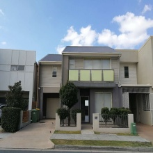 prefabricated house light steel villa