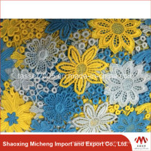 Hot Selling Multi Color Guipure Lace 2002