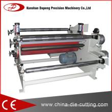 Machine de stratification pour papier d'aluminium et papier adhésif