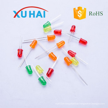 High Brightness Round 3mm 5mm LED/LED Diode with High Quality
