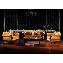 Classical wood carved sofas A80710