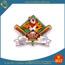World Series Baseball Souvenir Metall gedruckt Pin Badge in hoher Qualität