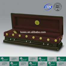 High Quality Caskets Wholesale LUXES American Style Presiden-Cranes Funeral Wooden Casket