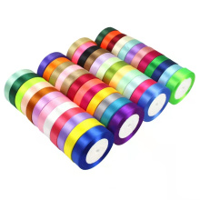 High Quality  100% polyester Gift Packing Satin Ribbon