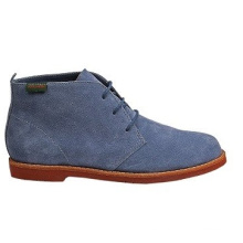 Take It Easy Botas de cuero de estilo Chukka