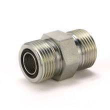 1F ORFS Hydraulic Adapters - ORFS Male / ORFS O-Ring Face Seal carbon steel hydraulic adapter